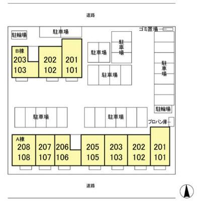 【区画図】フェリーチェ A