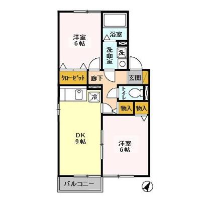 【区画図】ボナール・コート A・B
