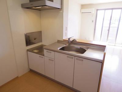 対面キッチン(浄水器対応型水栓)