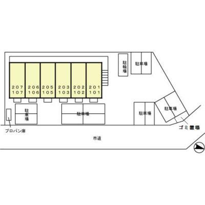 【区画図】ルミエール東光台 C
