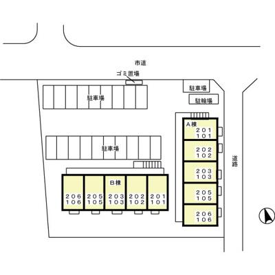 【区画図】ルミエール東光台 B
