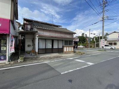 【前面道路含む現地写真】吉野売地