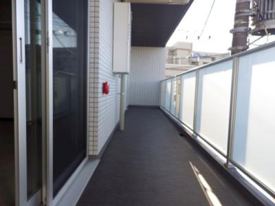 【バルコニー】GENOVIA三軒茶屋green veil ペット相談 築浅 浴室乾燥機 オートロック