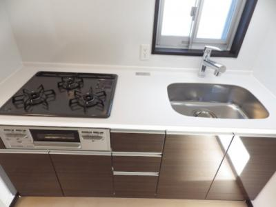 【キッチン】GENOVIA三軒茶屋green veil ペット相談 築浅 浴室乾燥機 オートロック