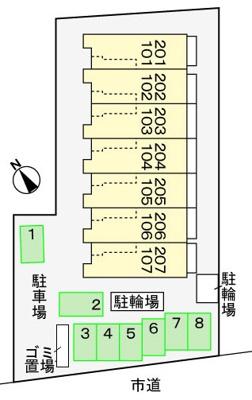 【区画図】レインツリー