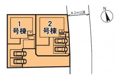 1号棟 リビング広々16.5帖 ワイドバルコニー ウォークインクローゼット2箇所
