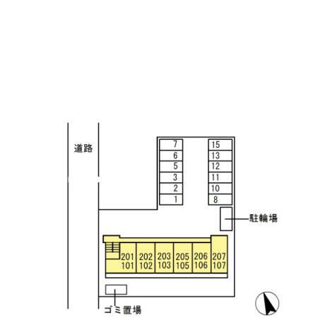 【区画図】ソリアードⅢ
