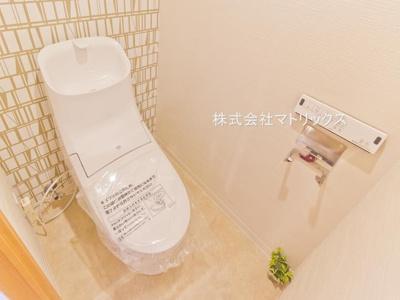 【トイレ】❖専用庭付♪角住戸☆デザインリフォーム済☆ペットと一緒☆東武上板橋サンライトマンションH棟❖