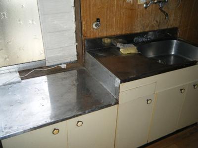 【キッチン】里上アパート