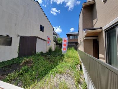 【外観】北区紫野下門前町 建築条件付 売土地