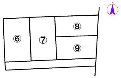 【区画図】西脇市西脇8号地
