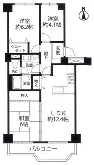 茨木レックスマンションA棟