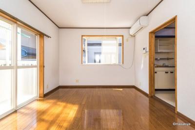 【居間・リビング】あっぷるハウス三輪
