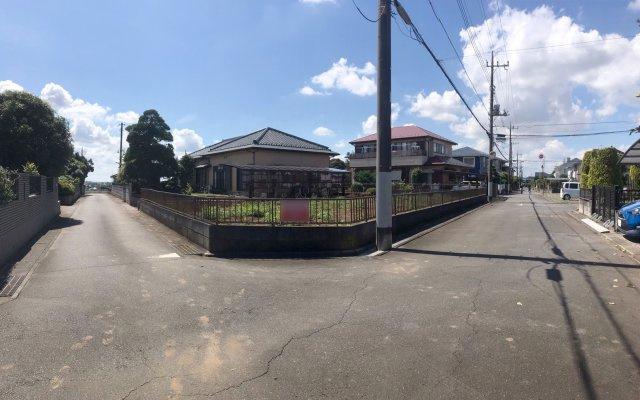 【前面道路含む現地写真】龍ヶ崎市平台4期 全4区画