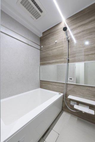 【浴室】ネストピア東比恵駅前Ⅱ 仲介手数料無料