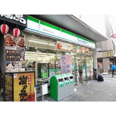 コンビニ「ファミリーマート桜新町駅前店まで116m」