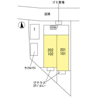 【区画図】メゾンクロッシー