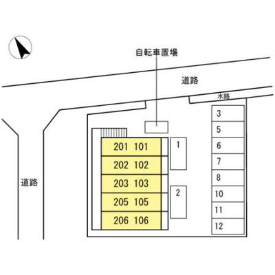 【区画図】ウッドイン舳越
