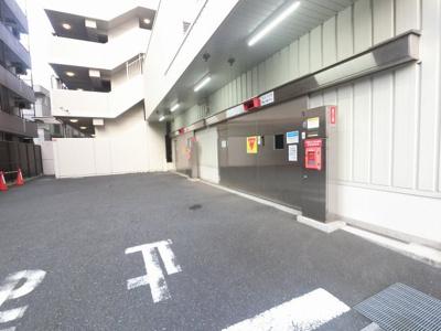 立体駐車場です。