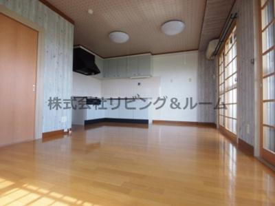 【居間・リビング】リバーテラス・イースト Ⅱ