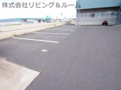 【駐車場】リバーテラス・イースト Ⅱ