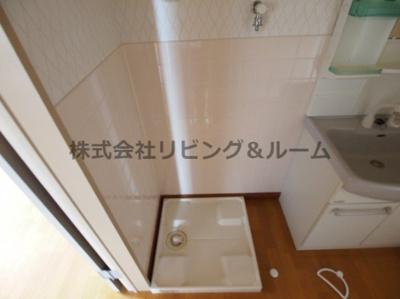 【洗面所】リバーテラス・イースト Ⅱ