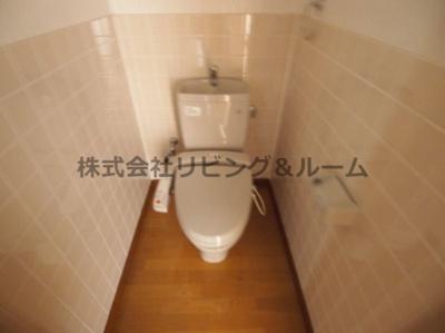 【トイレ】リバーテラス・イースト Ⅱ