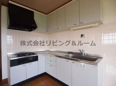 【キッチン】リバーテラス・イースト Ⅱ