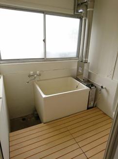 【浴室】船橋 後藤貸家
