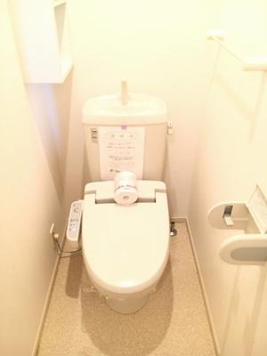 【トイレ】グラースメゾンB