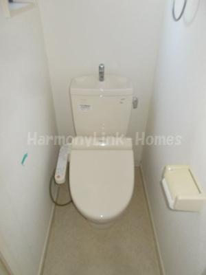 ヴィラ三ノ輪のトイレ