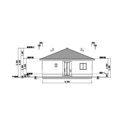 【完成予想図】清河寺第5 オール電化住宅