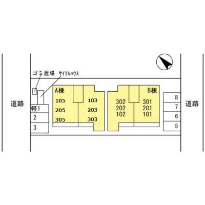 【区画図】ヴェルデュール梅町