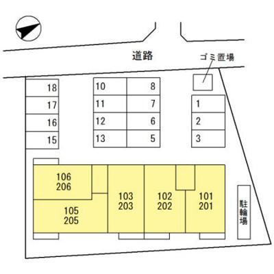 【区画図】マイネハイム上野芝