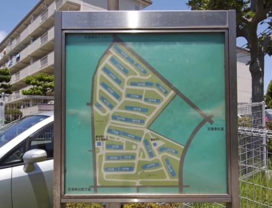 【区画図】港南台つぐみ団地12号棟