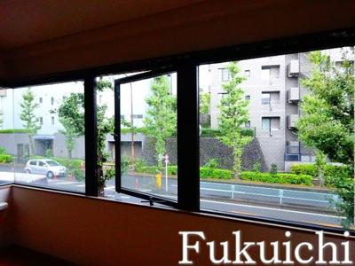 【バルコニー】柿の木坂音羽ハイツ