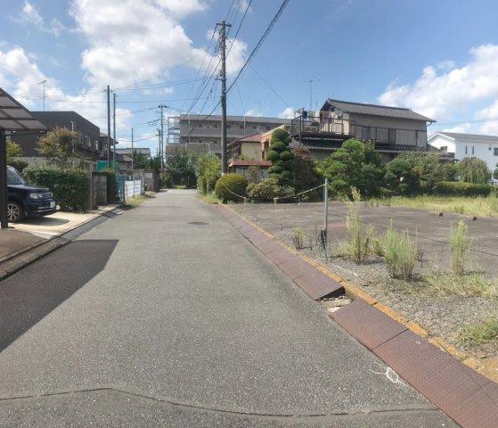 【前面道路含む現地写真】龍ヶ崎市佐貫町