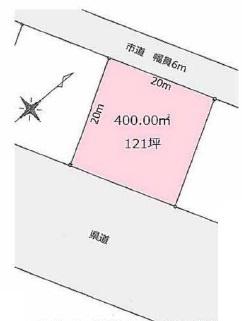 【土地図】龍ヶ崎市藤ヶ丘2丁目