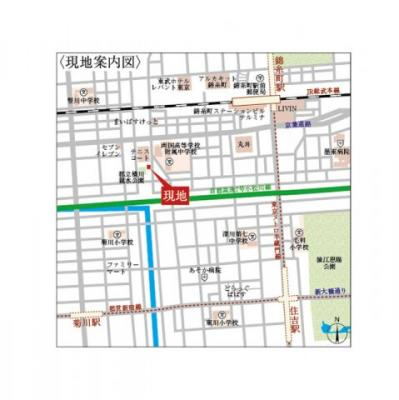 【地図】55-3錦糸町