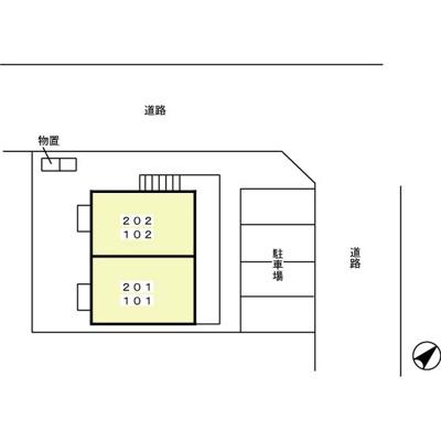 【区画図】ロイヤルシャンティⅡ