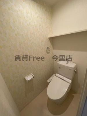 【トイレ】エスコート勝山 仲介手数料無料