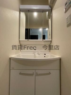 【独立洗面台】エスコート勝山 仲介手数料無料