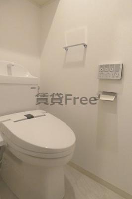 【トイレ】DOAHN生野東 仲介手数料無料