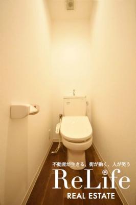 WC 温水洗浄便座機能付き