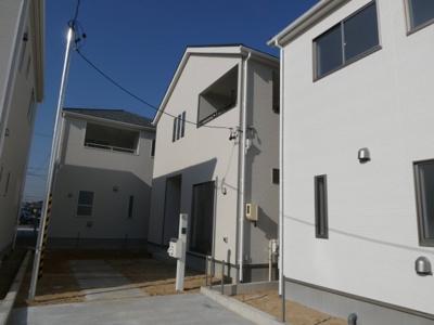 高浜市神明町第4新築分譲住宅16号棟写真です。2021年9月撮影