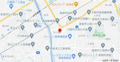 【地図】中川ハウス (株)Roots