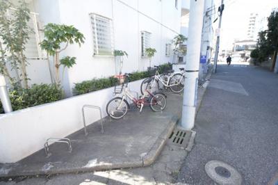 自転車置き場あり