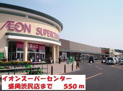 イオンスーパーセンター盛岡渋民まで550m