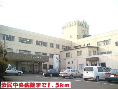 渋民中央病院まで1500m