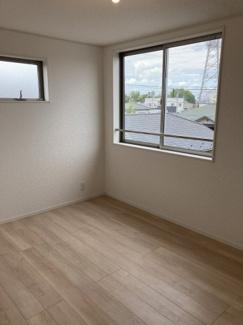 6帖の洋室です。WICがあり収納力もあります。